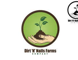 #80 for Design a Logo for Dirt 'N' Nails Farms company by rimskik