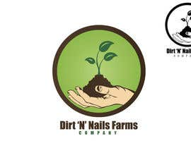 #81 for Design a Logo for Dirt 'N' Nails Farms company by rimskik