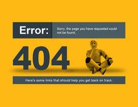 #34 cho Custom 404 page design bởi DezineGeek