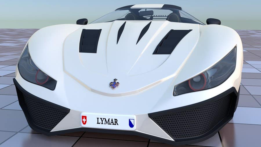 Entry #6 by dazhazit for A 3D model of my car drawings for