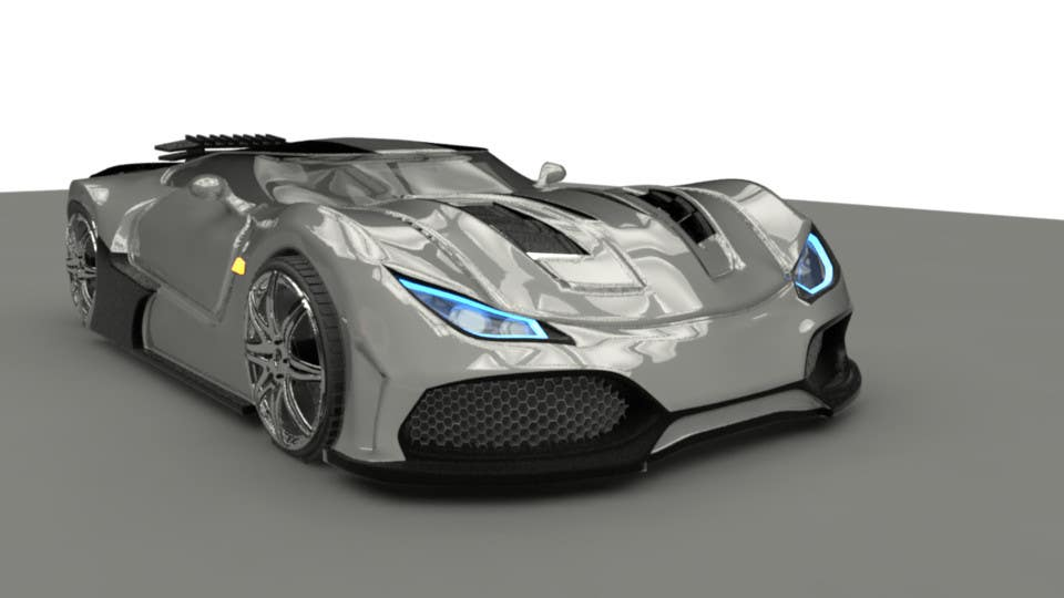 Entry #7 by bulletirde for A 3D model of my car drawings for ...