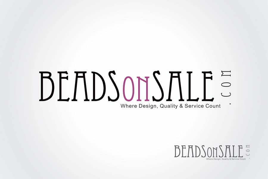Конкурсная заявка №619 для Logo Design for beadsonsale.com