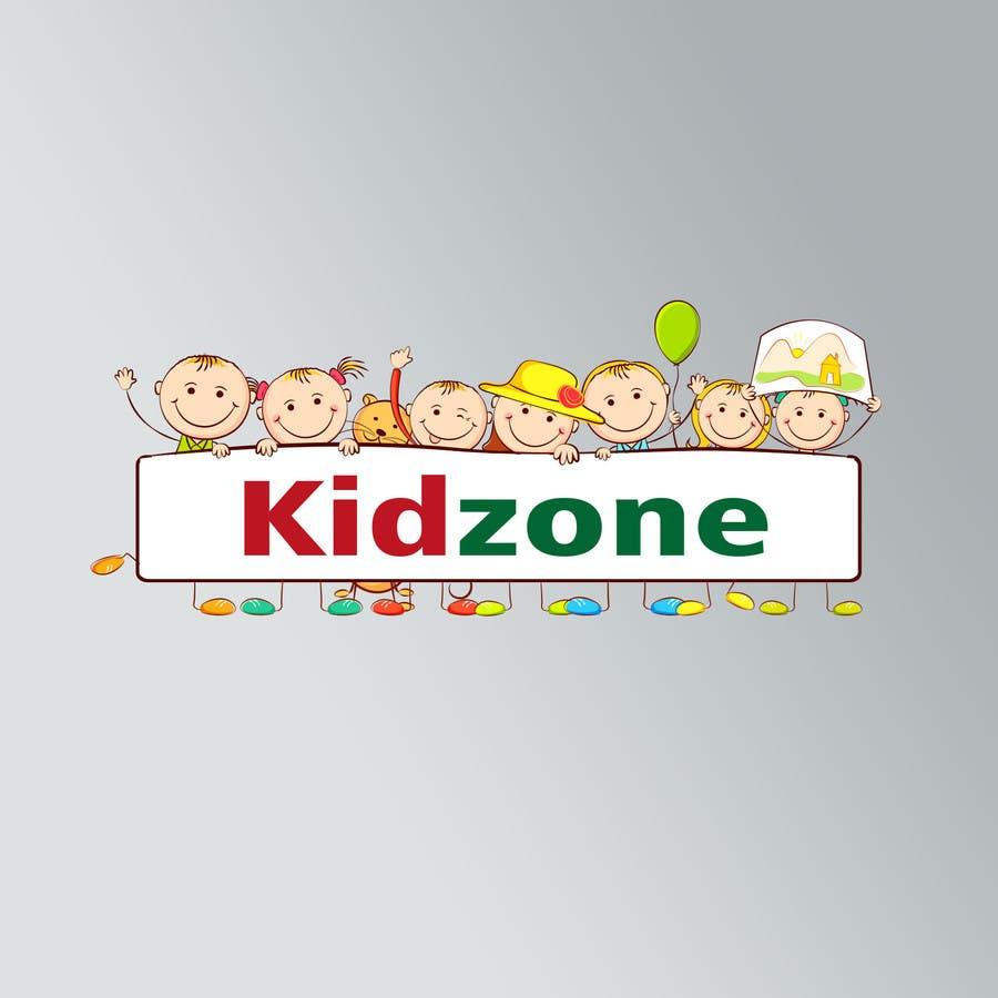 Entry #6 by ibrahimgalal for kidZone Logo Design -- 2 | Freelancer