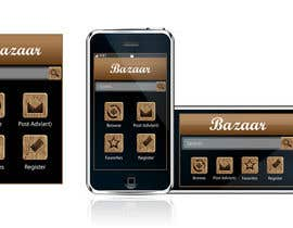 #17 para Design front page for Classifieds Mobile app por kazierfan