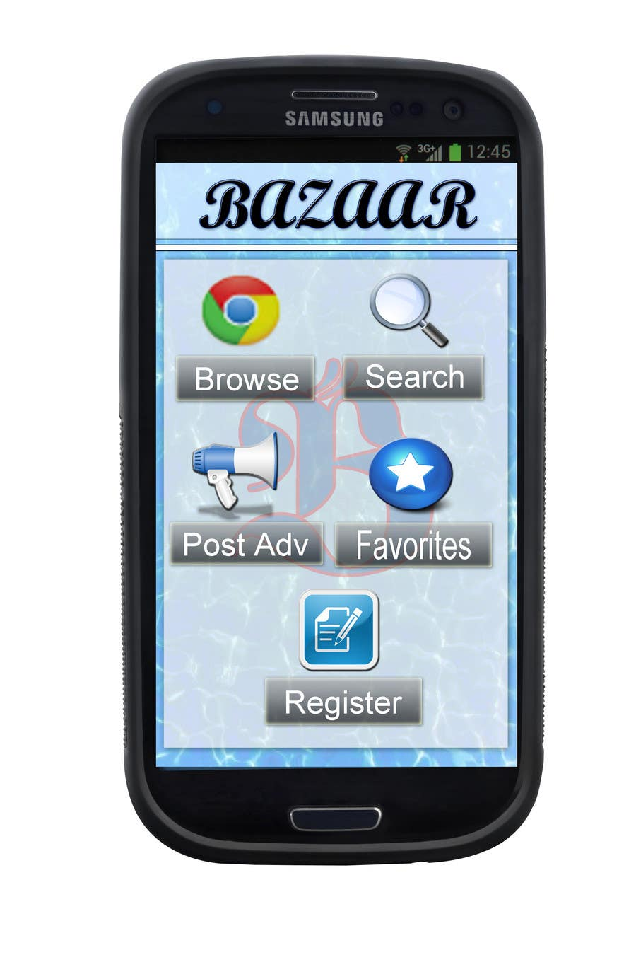 #21 for Design front page for Classifieds Mobile app by ras122