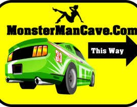 #10 for Design a Logo and Banner for MonsterManCave.com af ozassist