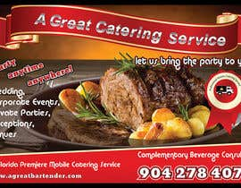 #87 para Design a Flyer for Catering and a Bartending Business - Future Work Needed Also por maygan