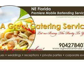 #12 para Design a Flyer for Catering and a Bartending Business - Future Work Needed Also por brianpadua