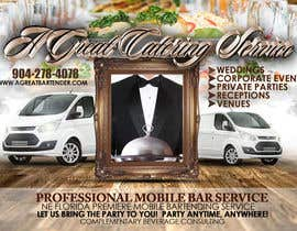 #80 untuk Design a Flyer for Catering and a Bartending Business - Future Work Needed Also oleh dsmithphoto