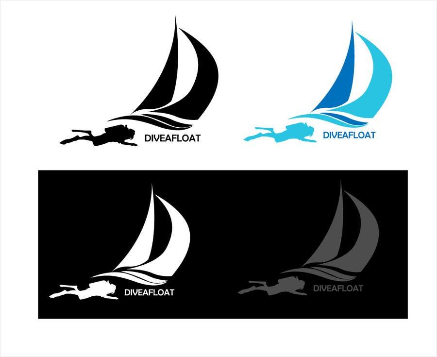 Bài tham dự cuộc thi #                                        25                                      cho                                         Logo Design for Diveafloat.