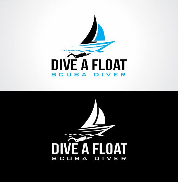 #31 for Logo Design for Diveafloat. by thecooldesigner