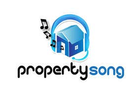 #346 for Logo Design for PropertySong.com or MyPropertySong.com af pupster321