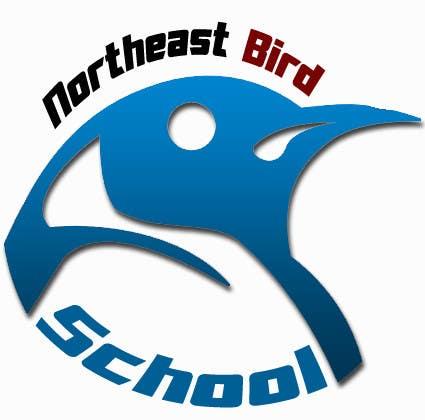 Inscrição nº                                         36                                      do Concurso para                                         Logo Design for Northeast Bird School