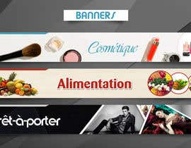 #26 for Conception of 7 banners for 200$ by arslanizaya