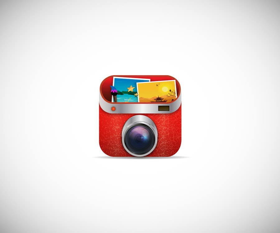 Design 3D App Icon For Photo Editor Android App