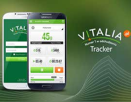 "nº 122 pour Design for mobile app ""Vitalia tracker"" (design only) par JustLogoz"