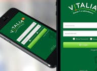 "Contest Entry #152 for Design for mobile app ""Vitalia tracker"" (design only)"