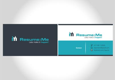 #59 for Logo and Business Card for Resume:Me by amixp