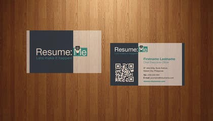 #151 for Logo and Business Card for Resume:Me by kdneel