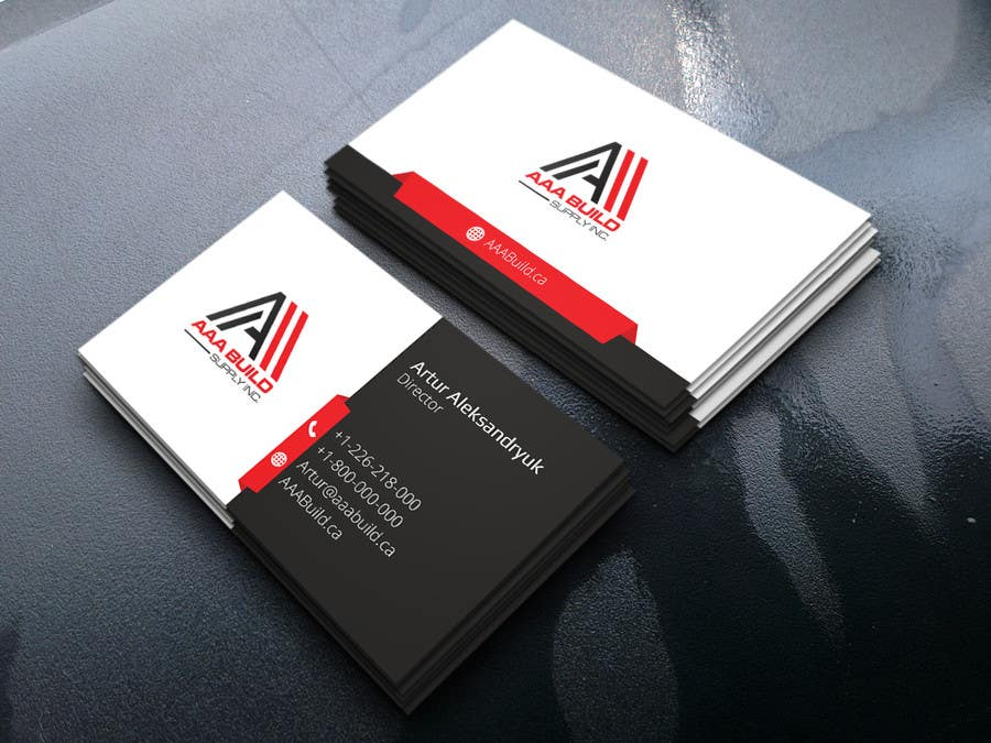 Entry #22 by rizoanulislam for Design Business Card For AAA Build ...