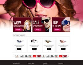 #7 para Design a Website Mockup for Eyeglass website por dilip08kmar