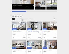 nº 17 pour Design a Website Mockup for Property Site par jonataslima
