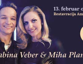 #1 para Design a Banner for FB post Valentine's Restaurant por slavilen
