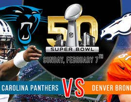 #8 for Design a Banner for Superbowl 50 by LampangITPlus