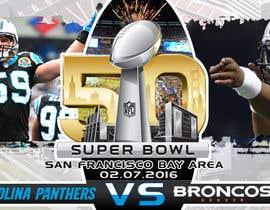 #14 for Design a Banner for Superbowl 50 by freelancerdez