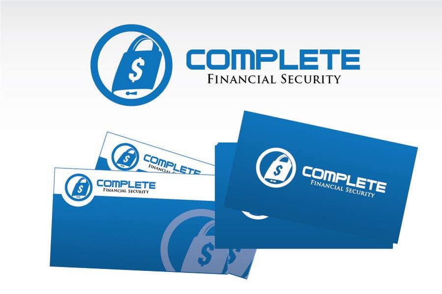 Kilpailutyö #388 kilpailussa Logo Design for Complete Financial Security