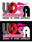 Contest Entry #5 for Design a Logo for WOSA - Women Of Sport Australia