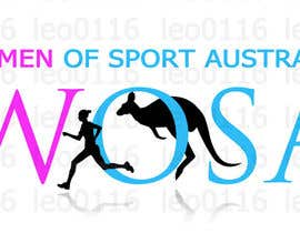 #32 para Design a Logo for WOSA - Women Of Sport Australia por leo0116