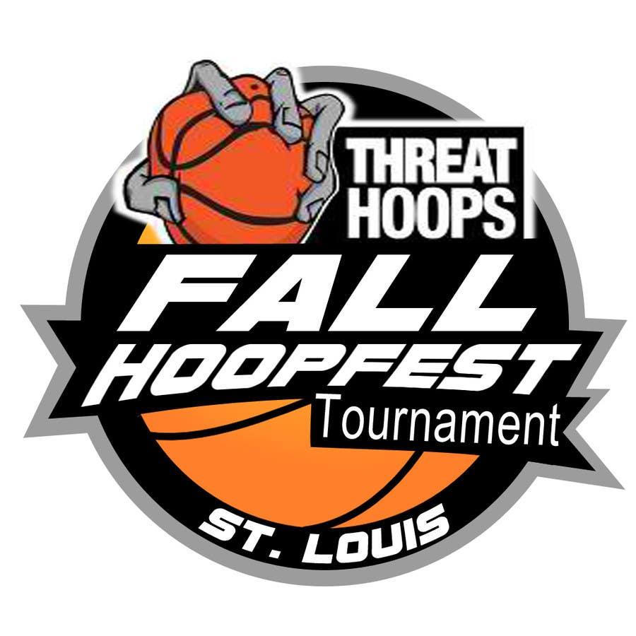 Penyertaan Peraduan #4 untuk Design a Logo for Youth Basketball Tournament