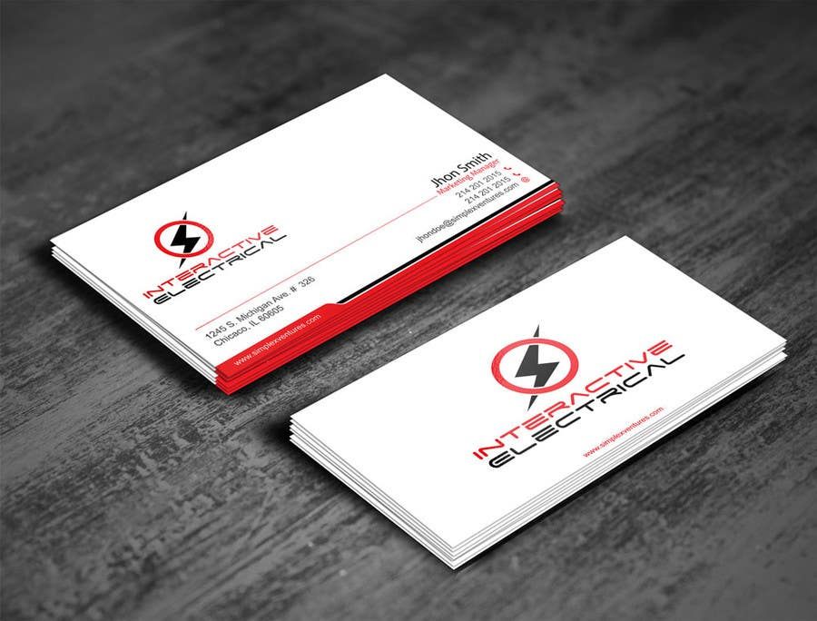 Entry 4 by gohardecent for design a business card a5 flyer for my contest entry 4 for design a business card a5 flyer for my electrical business colourmoves