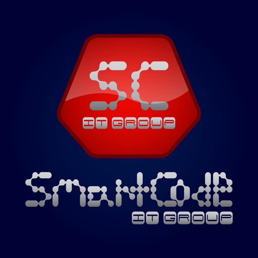 Inscrição nº 24 do Concurso para LOGO creation for the SmartCode IT group.