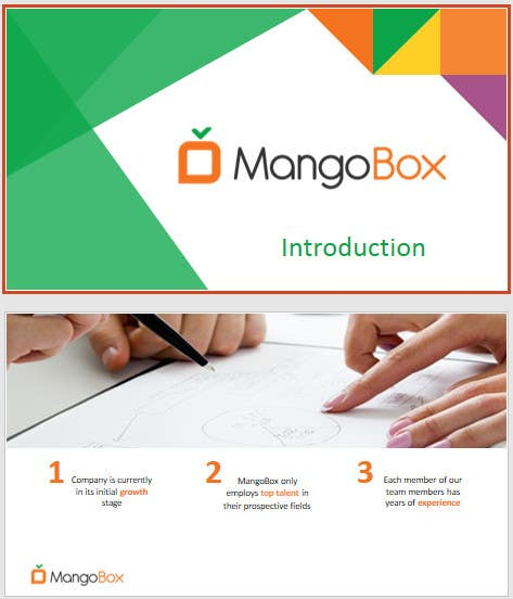 entry 3 by whiggins for create a powerpoint template master slide