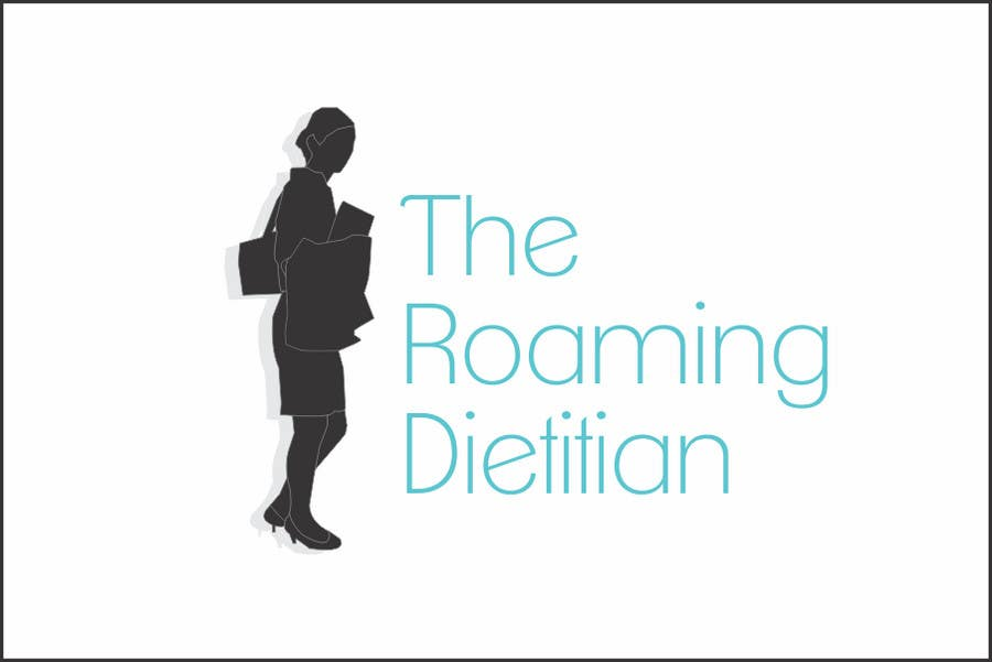 Konkurrenceindlæg #180 for Logo Design for A consulting and private practice business called 'The Roaming Dietitian'