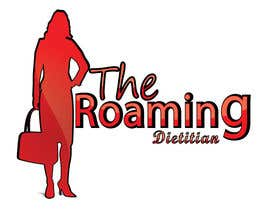 #224 pentru Logo Design for A consulting and private practice business called 'The Roaming Dietitian' de către crazy3ISSA
