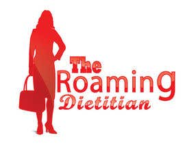 #226 pentru Logo Design for A consulting and private practice business called 'The Roaming Dietitian' de către crazy3ISSA