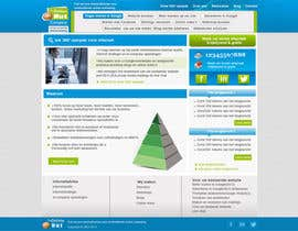 nº 26 pour Design a website frontpage mockup (Wordpress) par kevinkvk