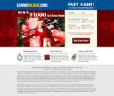 Contest Entry #26 for Design Landing Page #1 Shopping Product In 2013 Shopping Season In USA... Can you design better than Santa Claus?