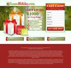 Contest Entry #25 for Design Landing Page #1 Shopping Product In 2013 Shopping Season In USA... Can you design better than Santa Claus?