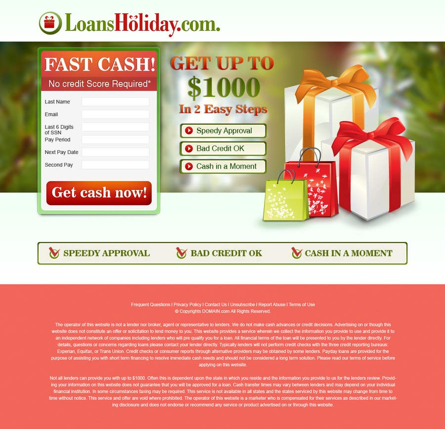 #28 for Design Landing Page #1 Shopping Product In 2013 Shopping Season In USA... Can you design better than Santa Claus? by BillWebStudio