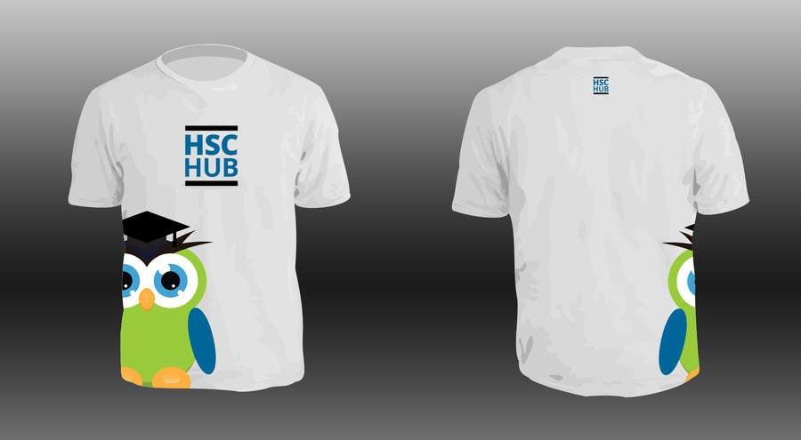 Inscrição nº 29 do Concurso para Design a T-Shirt for Hschub.com