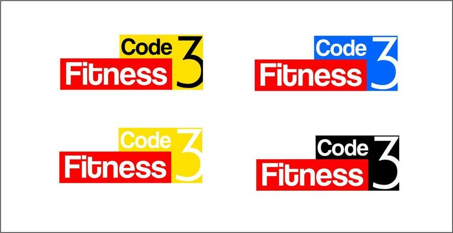 #7 for Design a Logo for Code 3 Fitness by Closeda