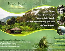 #21 untuk Design a Advertisment for Udzungwa Forest Tented Camp oleh pris