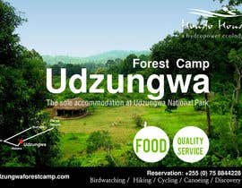 #24 untuk Design a Advertisment for Udzungwa Forest Tented Camp oleh zboyd