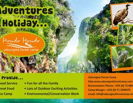 #30 untuk Design a Advertisment for Udzungwa Forest Tented Camp oleh linokvarghese
