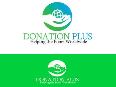 #209 for Design a Logo for Donation Plus by Wasabesprite