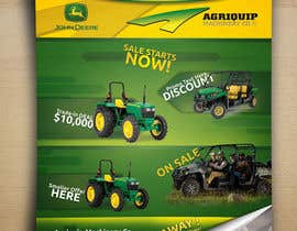#66 for Annual Sales Catalogue Front Cover (John Deere & Agriquip Machinery) by ibib